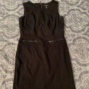 Beautiful little black dress with zipper detail